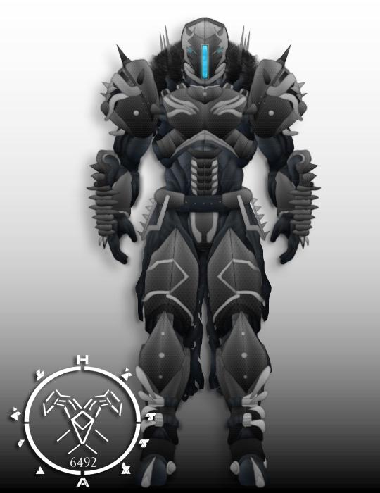 Destiny 2 Titan Scorn Armor By Hellmaster6492