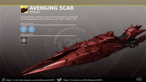 Avenging Scar Sparrow