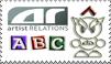 dA ABC Stamp-AR by shell4art