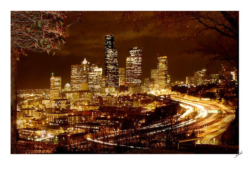 Seattle by shell4art