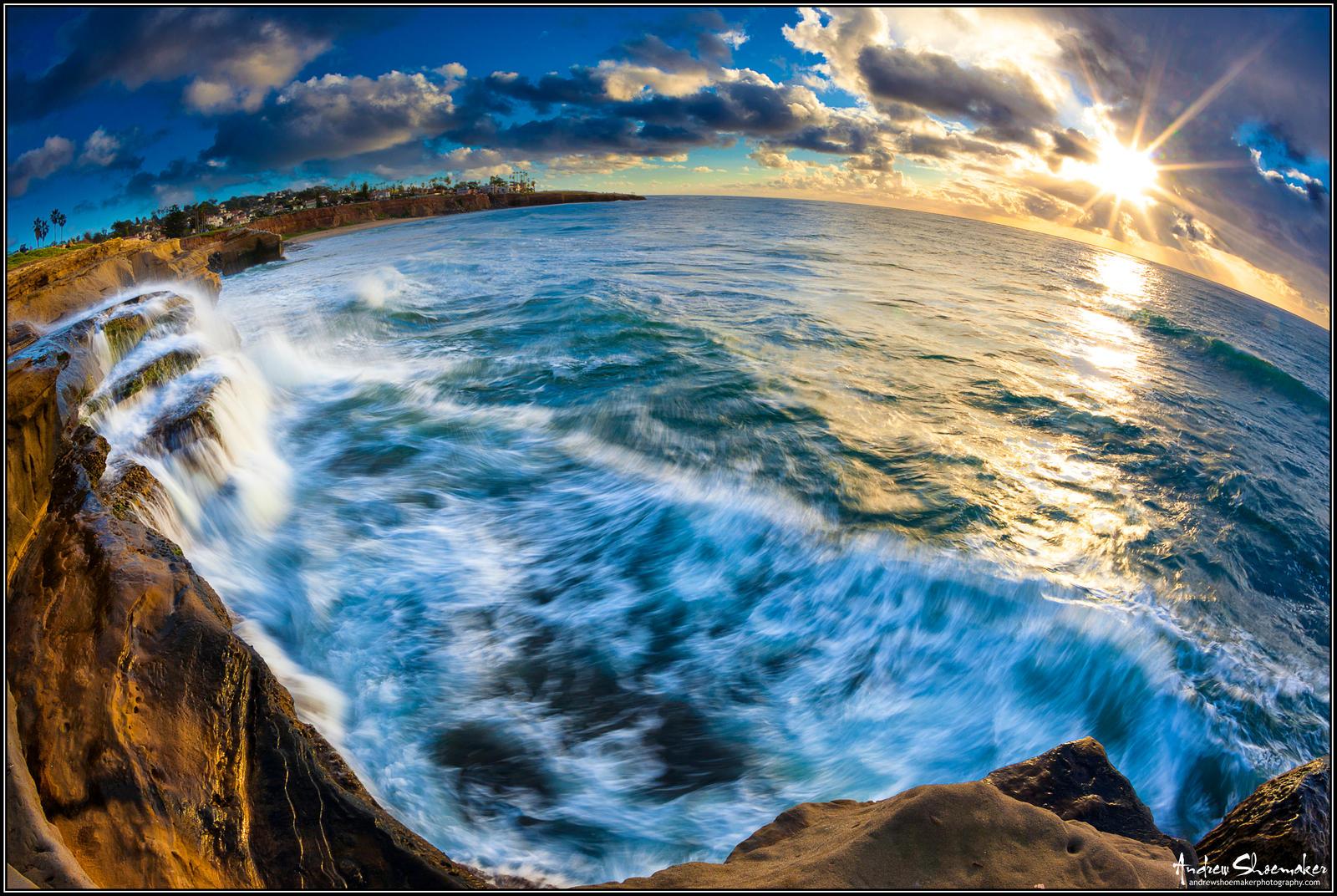 Golden Cliffs by AndrewShoemaker