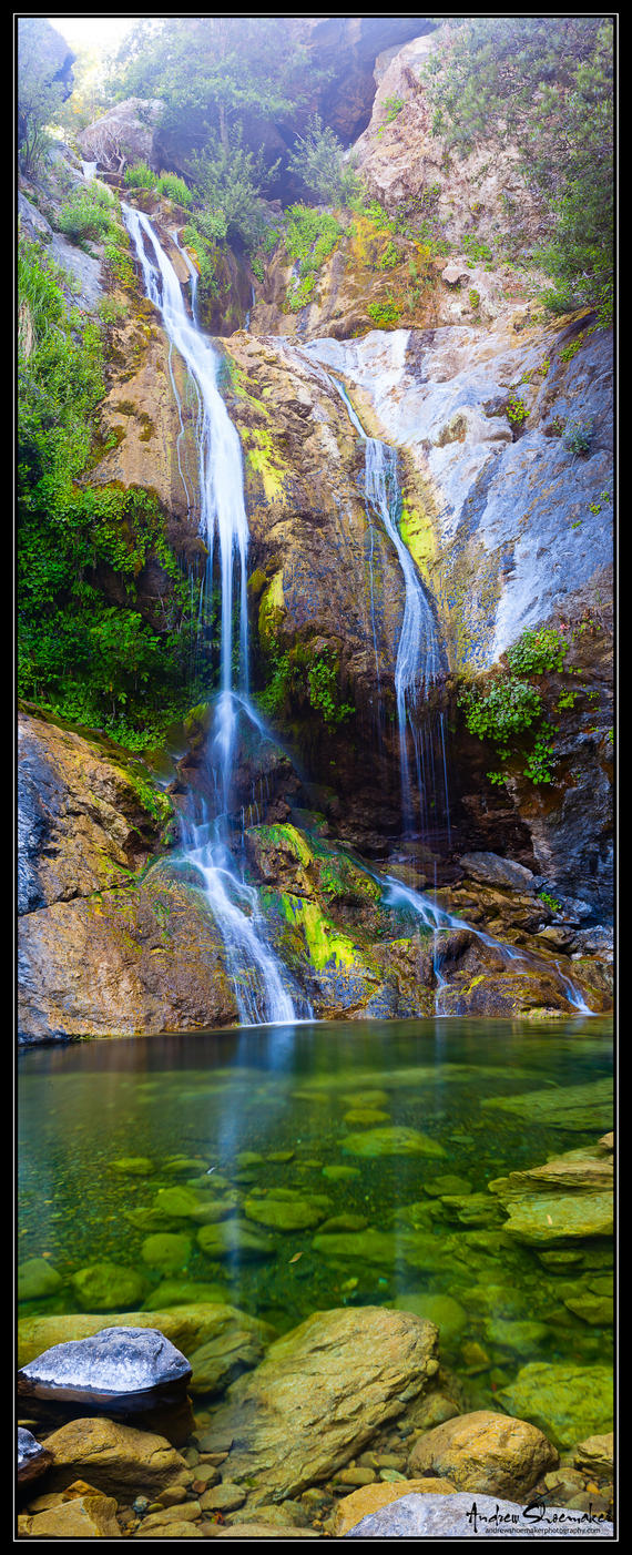 Salmon Creek Falls by AndrewShoemaker