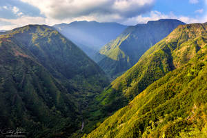 Waihee Valley by AndrewShoemaker