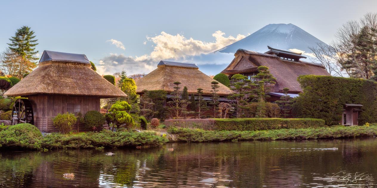 Fuji Serene by AndrewShoemaker