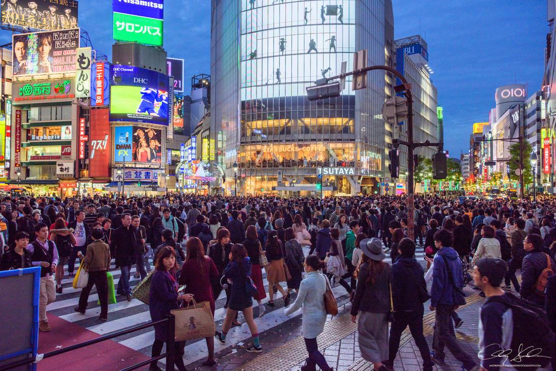 Shibuya Scramble by AndrewShoemaker