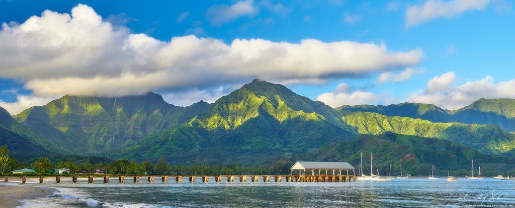 Hanalei Bay by AndrewShoemaker