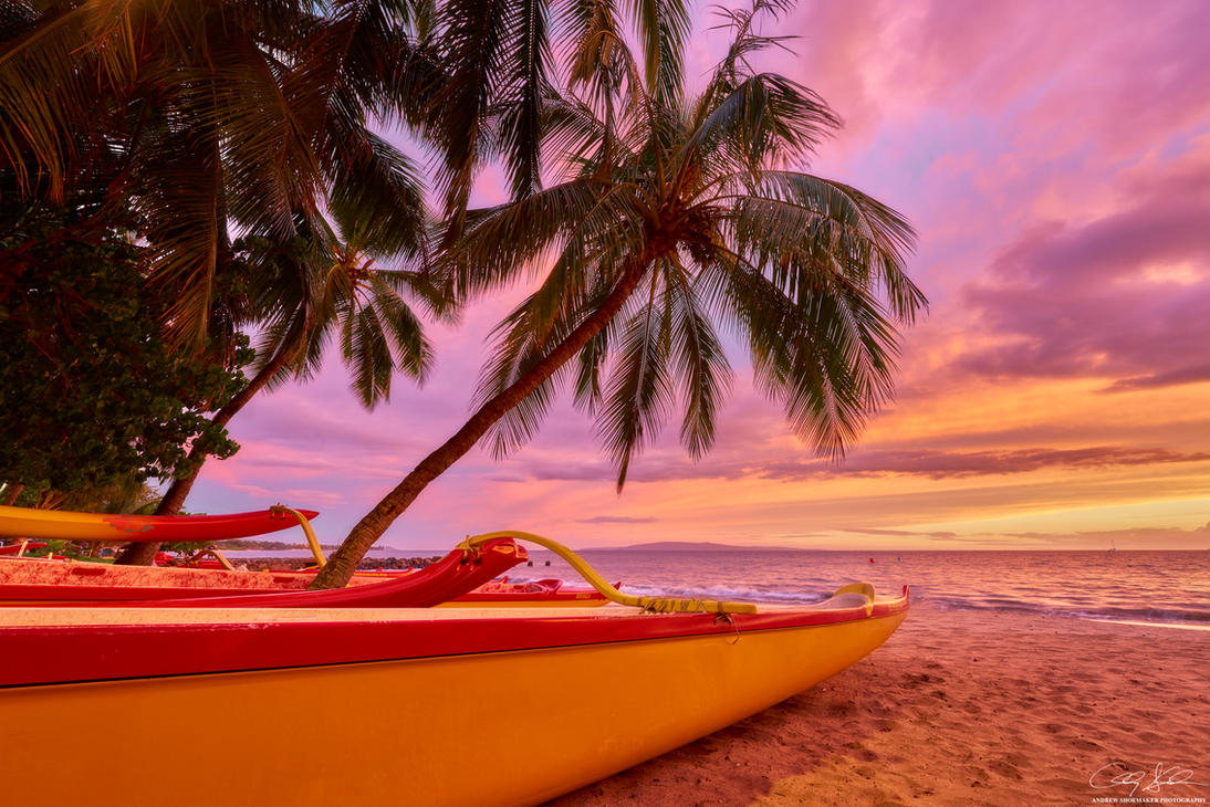 Paddle to Sunset by AndrewShoemaker