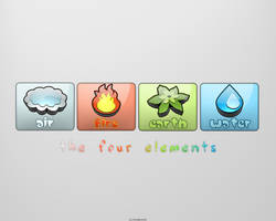 The four elements by djtkd