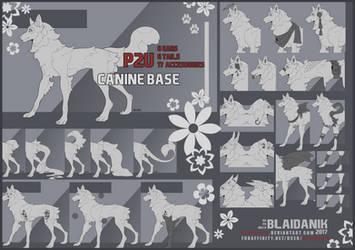 P2U Canine Base by Shinzessu