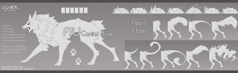Canine base - P2U 14