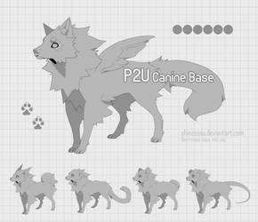 Canine puppy base - P2U 16