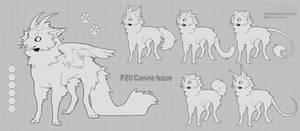 Canine chibi base - P2U 17