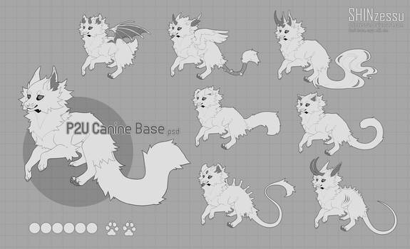 Canine chibi base - P2U 18