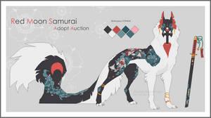 - [Red Moon Samurai] Adopt AUCTION CLOSED