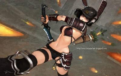 Samurai Rabot Girl