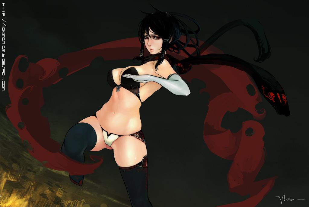Cексуальные аниме девушки