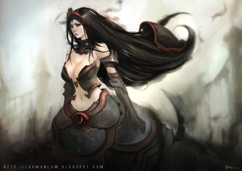 Dark n Day - Queen of Eies by lokmanlam