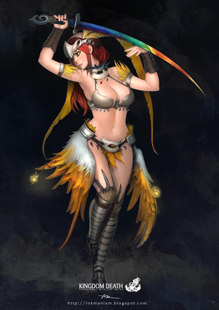 Kingdom Death-PhoenixDancer by lokmanlam