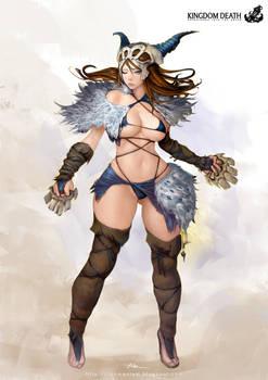 Kingdom Death-Primal Huntress
