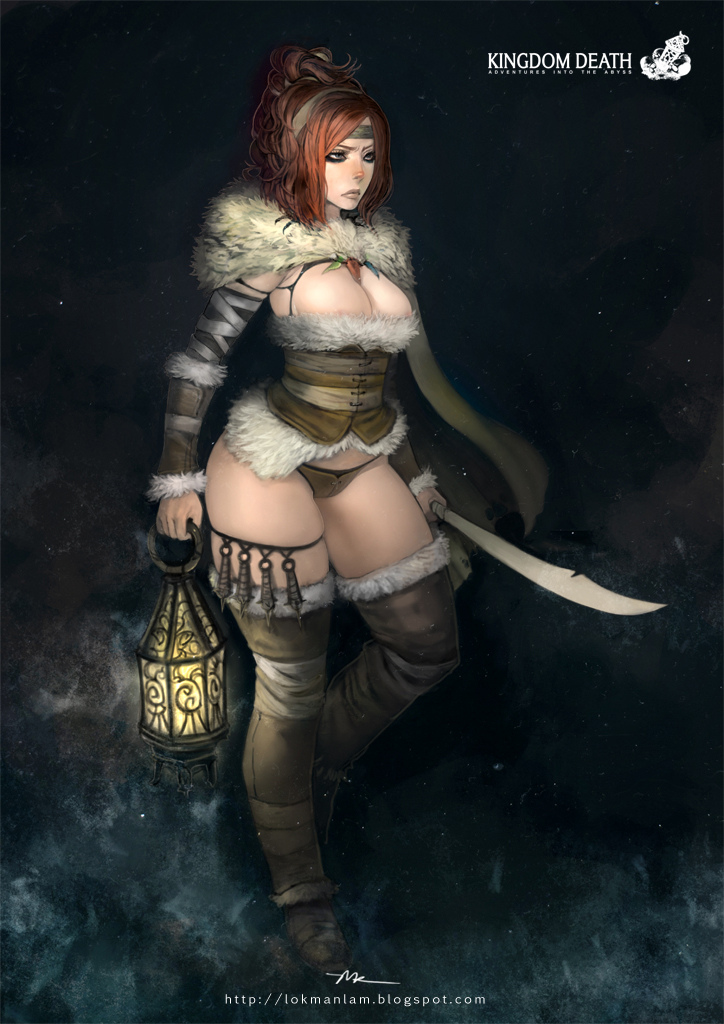 Kingdom Death-Rawhide Dame by lokmanlam