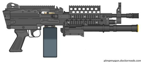 The Man's Machine Pistol by b1nary-mast0r