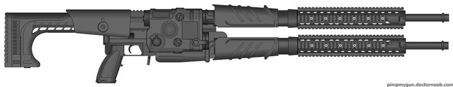 Prototype Railgun by b1nary-mast0r