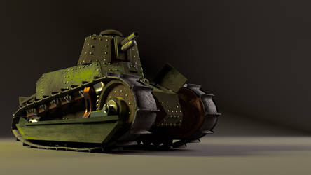 Renault FT 17 WIP