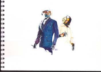 Daft Punk by MrEikichi