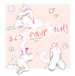 Pinup YCH -OPEN- (Unlimited Slots)