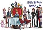Happy Birthday NicoB!  by Clownofgods