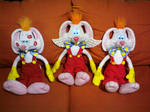 My three Roger Rabbit customs
