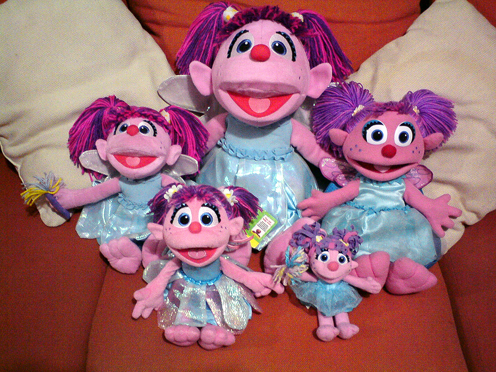 My Abby Cadabby Collection By Bunnyfriend