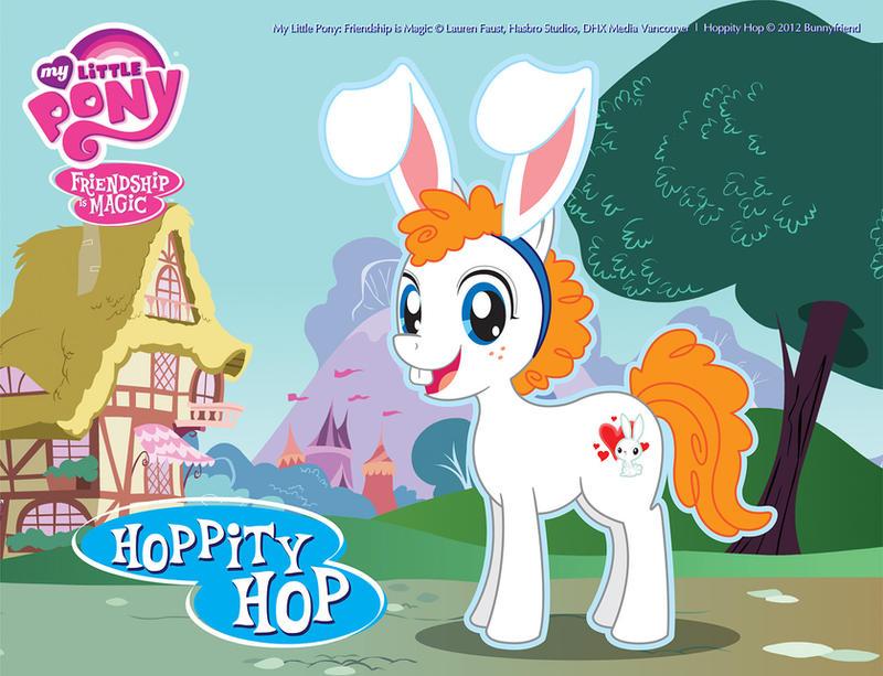 Hoppity Hop - My Ponysona by bunnyfriend