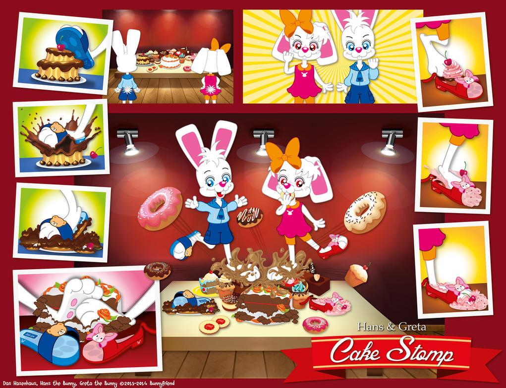 Hans and Greta - Cake Stomp by bunnyfriend