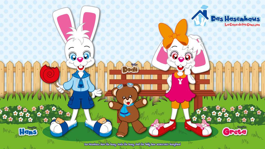 Das Hasenhaus Character Revamp - Revamp by bunnyfriend