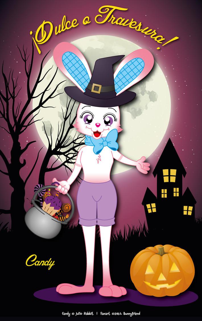 Dulce o Travesura - Candy the Rabbit by bunnyfriend