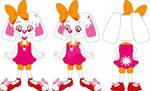Greta the Bunny - Character Design