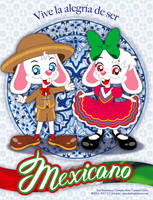 Enjoy the happiness of being Mexican! by bunnyfriend