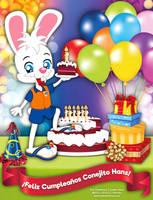 Happy Birthday No. 7, Hans the Bunny! by bunnyfriend