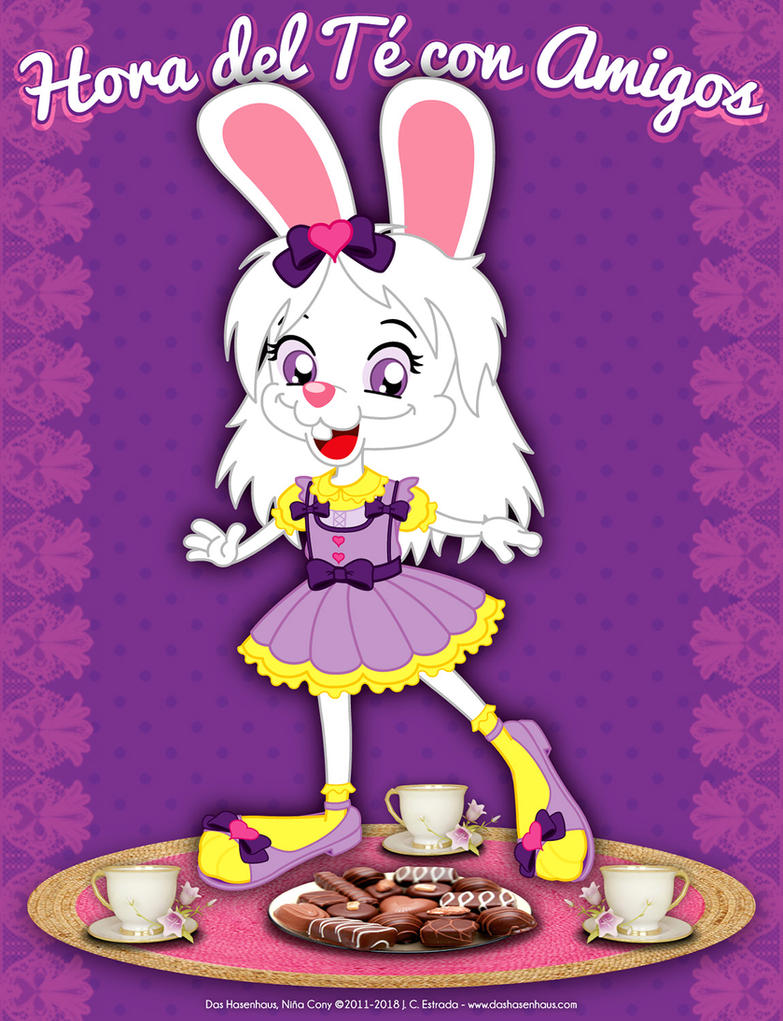 Tea Time With Friends - Little Cony by bunnyfriend