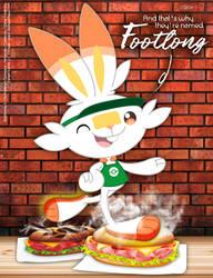 Scorbunny's Footlong Secret Recipe by bunnyfriend