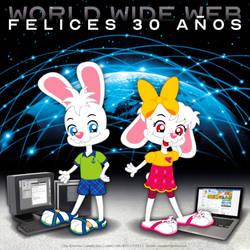 Happy 30th Anniversary, World Wide Web by bunnyfriend