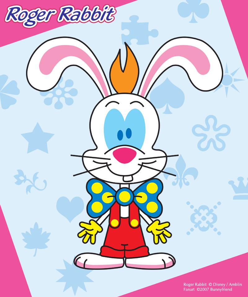 Disney Cuties - Roger Rabbit by bunnyfriend
