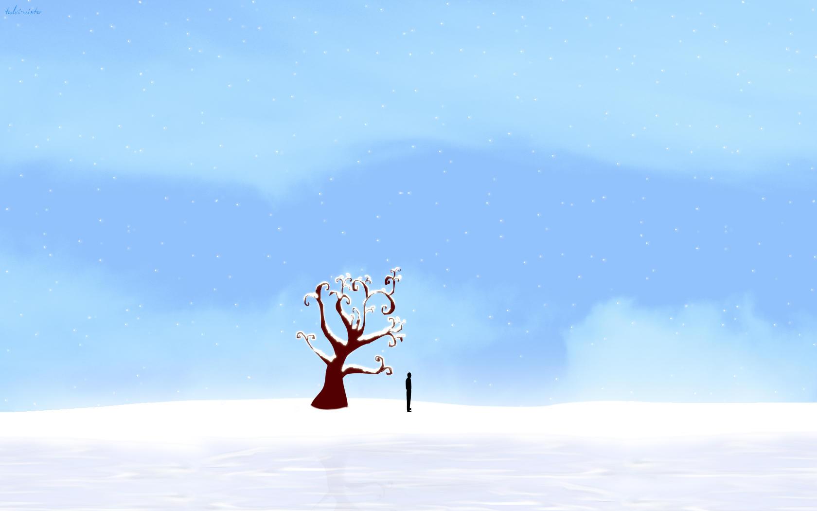 talvi-winter Widescreen by daewoniii