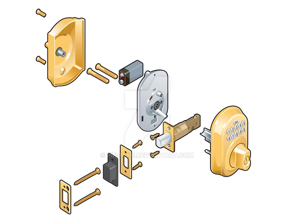 Schlage 3 Exp View by pin-mike