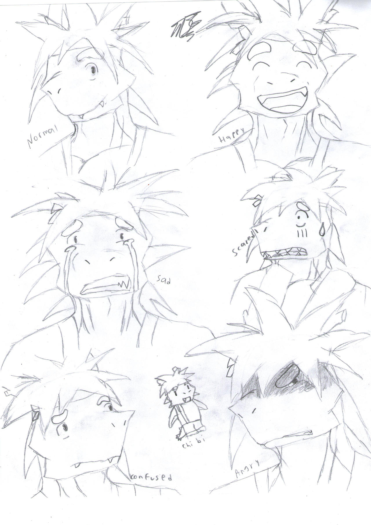 Tatsukis Espressions by DG254