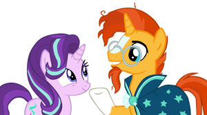 Starlight and Sunburst MLP Vector (NO 2) by Lyra-Stars
