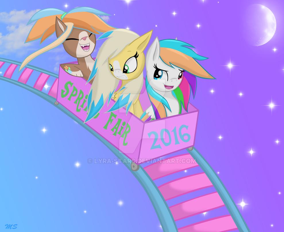 MLP Roller Coaster by LyraKitty