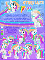 Starblaze OC MLP Ultimate Reference Sheet No 2 by Lyra-Stars