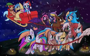 Run Run Starblaze, Lyra's Gotta Make it to Town by Lyra-Stars